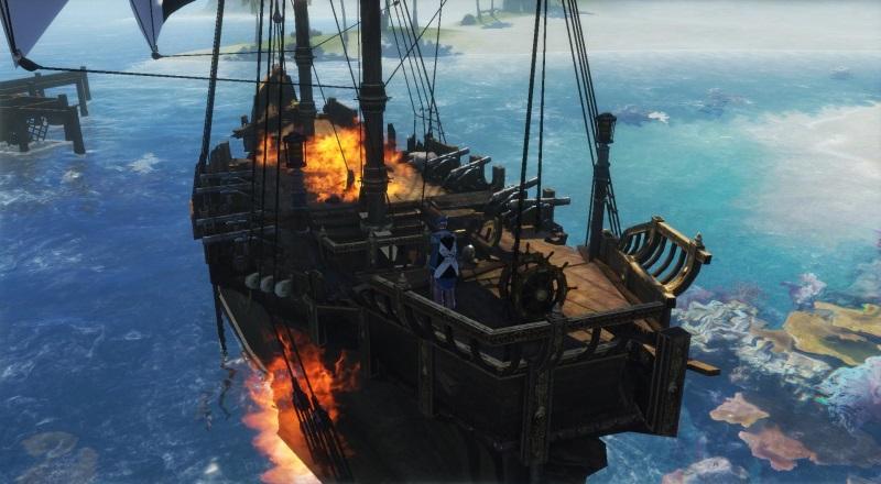 Поломанный корабль