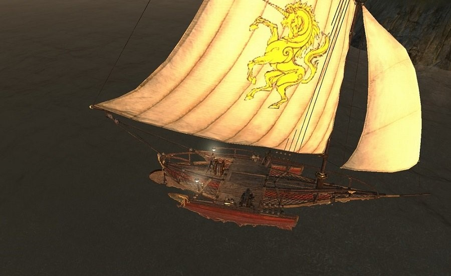 Тримаран - корабль ArcheAge