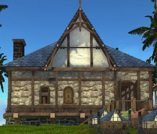 Двухэтажный Нуианский особняк ArcheAge