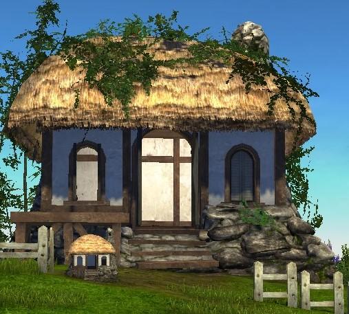 Фермерский харнийский дом ArcheAge