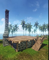 Фундамент здания ArcheAge