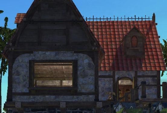 Котедж с большой терассой ArcheAge