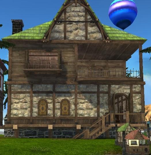 Дом с закрытой террасой ArcheAge