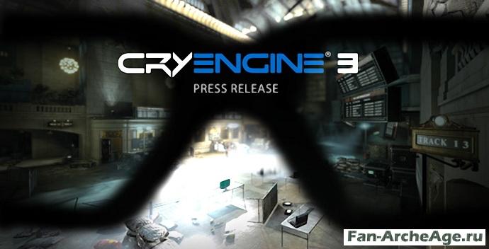 CryEngine 3 движок ArcheAge