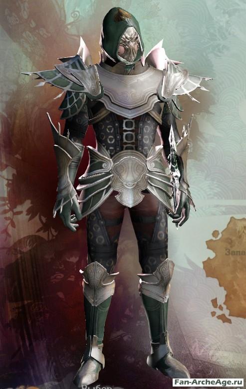 Эрноанский кожаный доспех мстителя ArcheAge