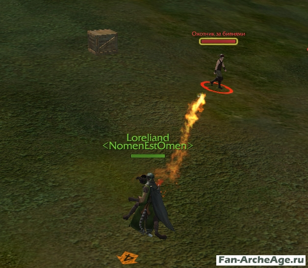 Скил Огненный Шар ArcheAge