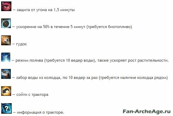 Скилы трактора fan-archeage.ru