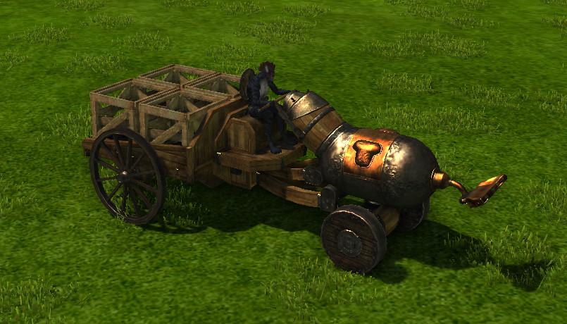 ArcheAge трактор