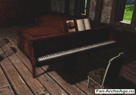 Пианино ArcheAge