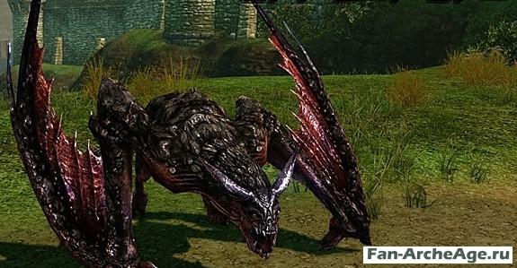 Гигантская горгулья archeage
