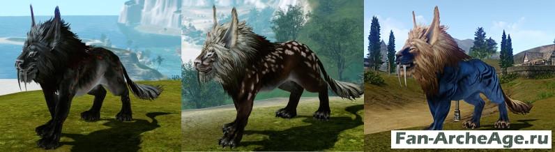 Лев - ездовое животное ферре archeage