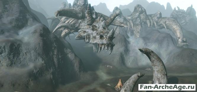 Кладбище драконов ArcheAge