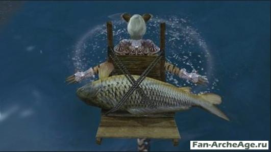 Рыба парусник в Архейдж